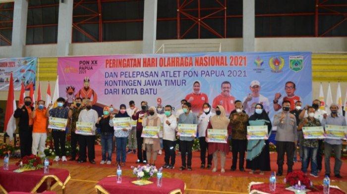 Dewanti Dukung Atlet Kota Batu Bawa Pulang Medali Emas dari PON XX Papua