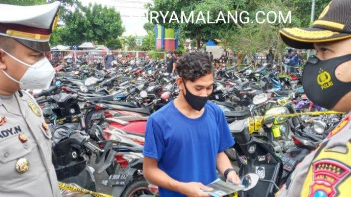 Jaring Motor Bodong Saat Razia Balap Liar, Polres Malang Akan Kembangkan ke Kasus Pencurian