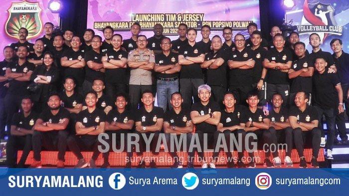 Daftar Nomor Punggung Pemain Bhayangkara FC di Liga 1 2020
