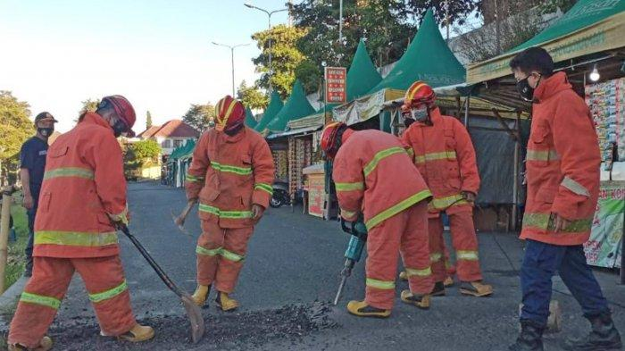 Petugas Pemadam Kebakaran Kota Batu Tempati Kantor Baru
