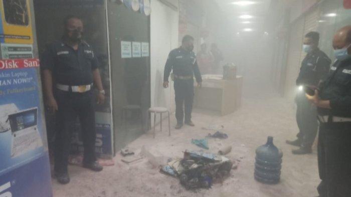 Kebakaran Toko di Lantai 2 Marina Plaza Surabaya, Pengunjung Semburat