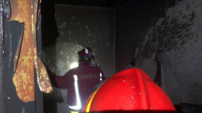 Korsleting Listrik menjadi Picu Kebakaran Rumah diJalan Brigjen Slamet Riadi, Kota Malang