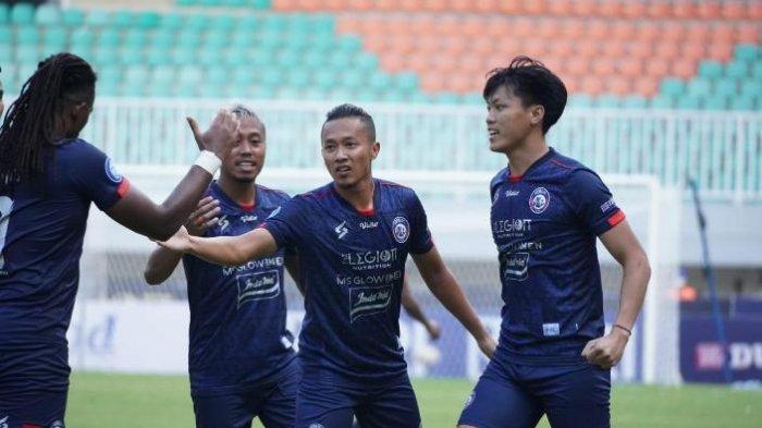 Klasemen Sementara Liga 1 2021, Arema FC Urutan 12 Hasil dari 2 Kali Seri, Bali United di Puncak