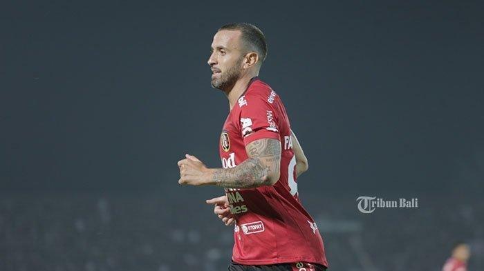 Pemain asing Bali United, Paulo Sergio.