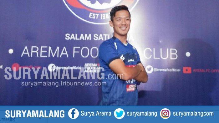 Takafumi Akahoshi Yakin Arema FC akan Raih Tiga Poin di Kandang Perseru Badak Lampung