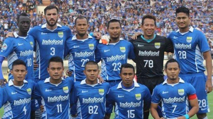 Ilustrasi - Pemain Persib Bandung dalam artikel rencana tim Maung Bandung yang segera mendatangkan 2 pemain di Awal September
