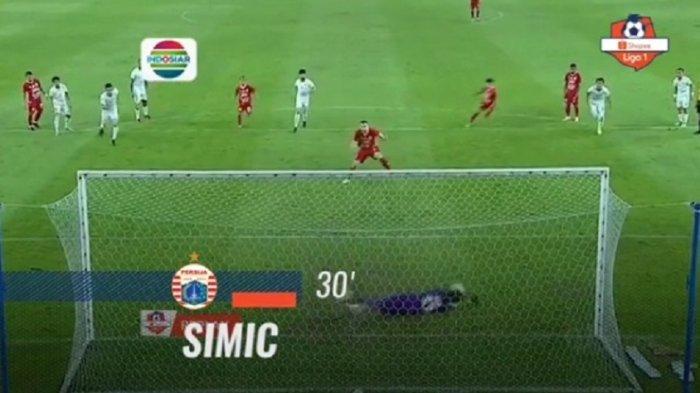 Hasil Skor Persija Vs Persebaya di Babak Pertama 1-2, Diwarnai Penalti dari Marko Simic