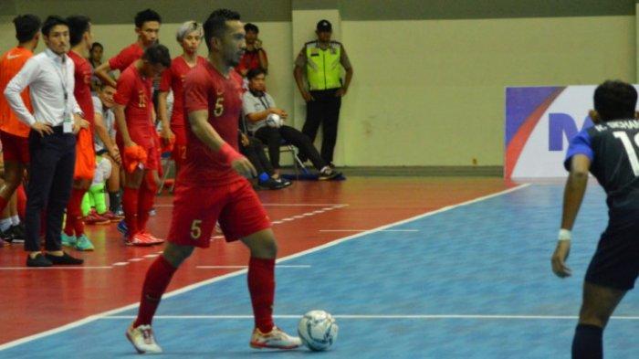 Timnas Futsal Indonesia Menang Besar 13-0 atas Kamboja, Lolos Semifinal Piala AFF Futsal 2018