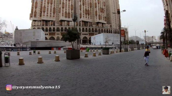 Deretan Foto Pemandangan Janggal Kota Mekkah, Sepi Tak Ada Warga Bagai Kota Mati