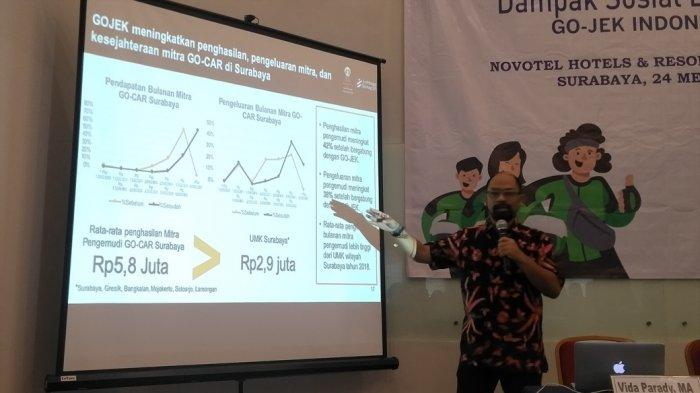 GOJEK Sumbang Rp 2,2 Triliun ke Perekonomian Surabaya, Paling Besar UMKM Go-Food