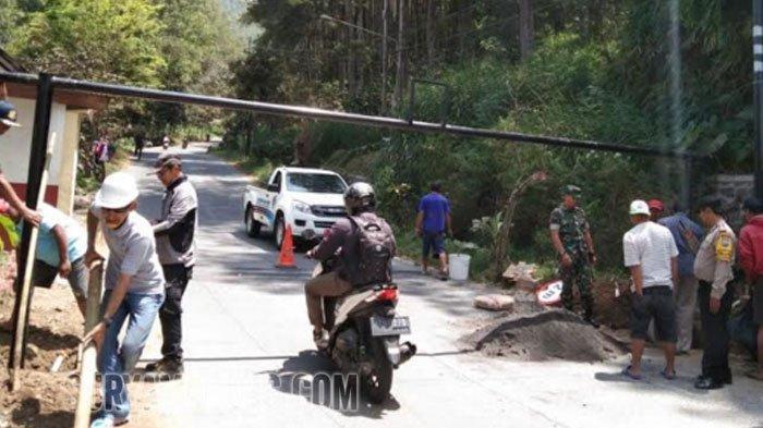 Konstruksi Sepanjang 50 Meter untuk Pengendali Rem Blong di Kawasan Klemuk, Songgokerto, Kota Batu