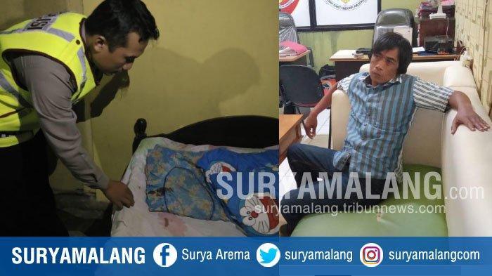 BREAKING NEWS – Seusai Bacok Ayah Kandungnya di Lamongan, Junaidi Cari Makan di Gresik
