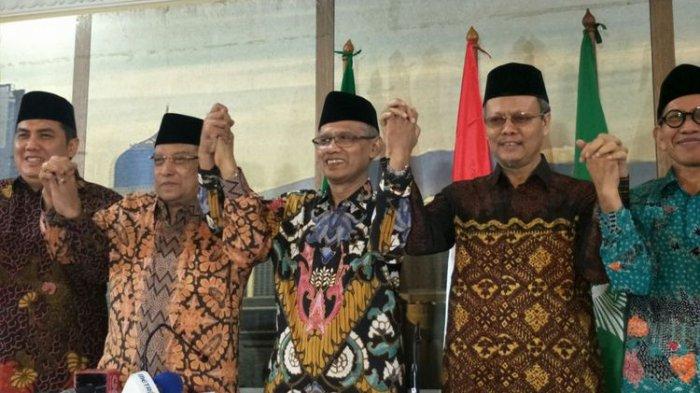 Ketua Umum PBNU dan Muhammadiyah Bertemu, Inilah Pesannya soal Insiden Bakar Bendera
