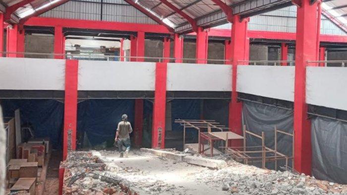 Pembangunan Kios di Lantai Dua Pasar Legi Mulai Dikerjakan, Pemkot Blitar Siapkan Dana Rp 7 Miliar
