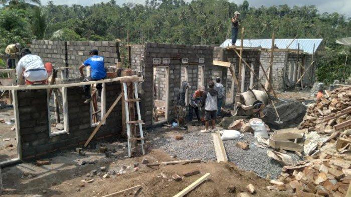 Wujud Rumah Bantuan untuk Korban Gempa di Malang, Rumah Ukuran 4 X 8 Meter Ditempati 8 Orang