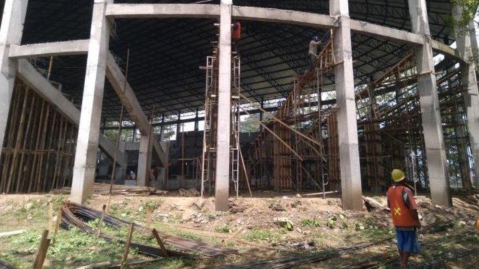 Kejar Target, Pembangunan GOR Kanjuruhan Malang Terus Dikebut