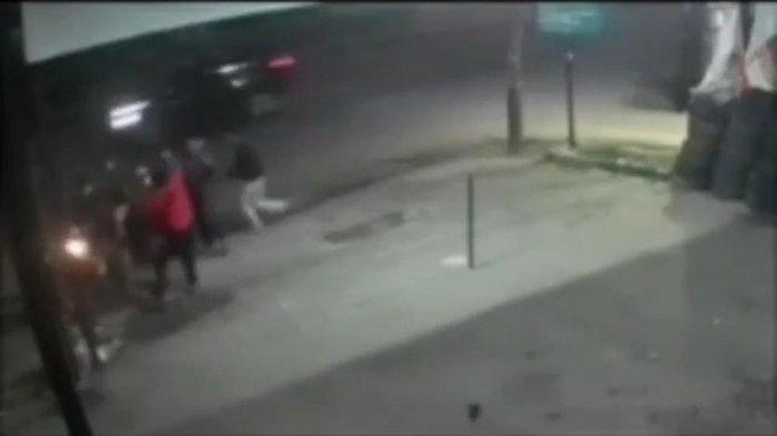 Geng Motor Berulah di Tangsel, Aksi Pembegalan dan Pembacokan Terekam CCTV