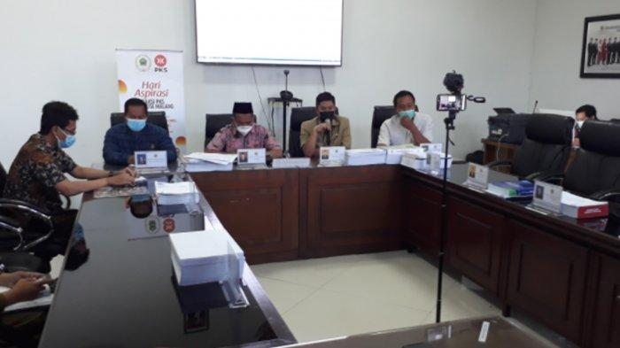Fraksi PKS Bahas Pembelajaran Tatap Muka Terbatas di Kota Malang, Saran Ada CCTV Pantau Prokes