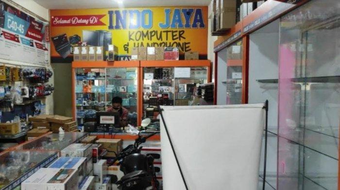 Polisi Masih Dalami Rekaman CCTV Kasus Pembobolan Toko Komputer di Kota Blitar