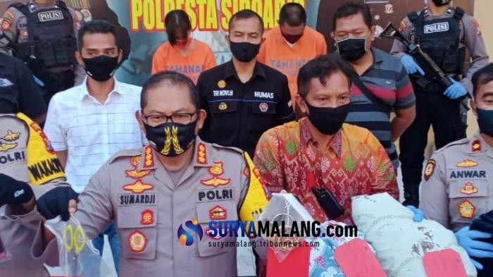 Pembunuh Ibu Kos di Sidoarjo Tusuk Korban Pakai Gunting Hingga 22 Kali, Pelaku Pasangan Suami Istri