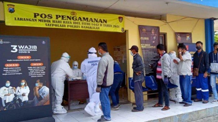 Penyekatan Digelar di Pelabuhan Kamal dan Ujung Perak Surabaya, 4 Warga Terdeteksi Reaktif