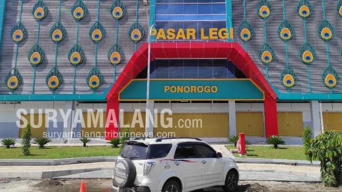 Akan Diresmikan pada 9 Februari 2021, Pasar Legi Ponorogo Bisa Tampung 4.000 Pedagang