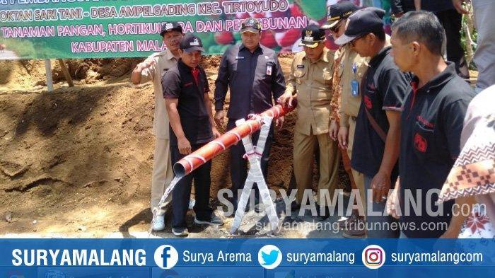 Pemkab Resmikan Embung di Tirtoyudo, Kabupaten Malang