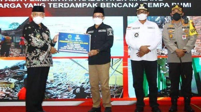 Pemkot Malang Salurkan Bantuan untuk Korban Gempa di Kabupaten Malang