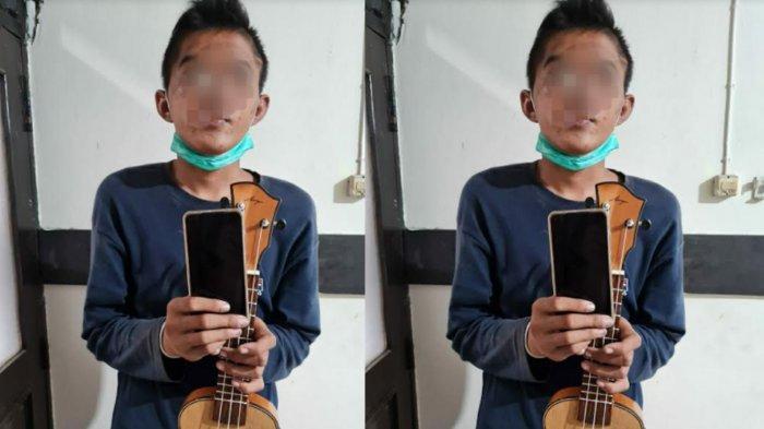 Menyamar Jadi Pengamen, Pemuda Kediri Ditangkap Karena Curi HP di Tulungagung