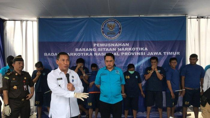 BNNP Jatim: Peredaran Narkoba Di Jawa Timur Meningkat Dibanding Tahun Sebelumnya