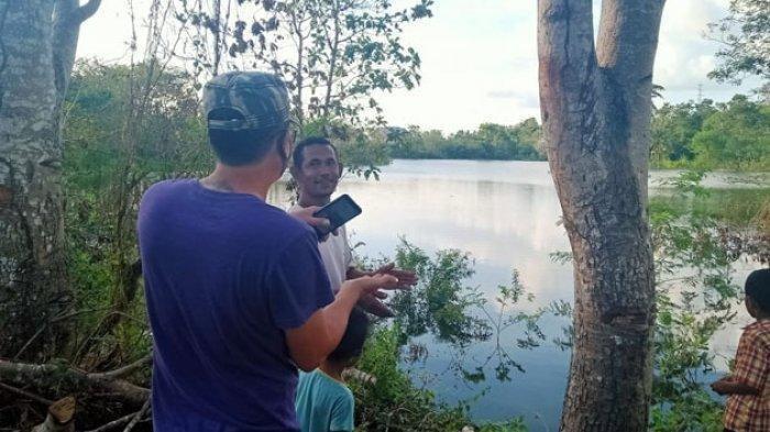 Penampakan Danau Baru bernama Tankolo di Kelurahan Sikumana, Kota Kupang.