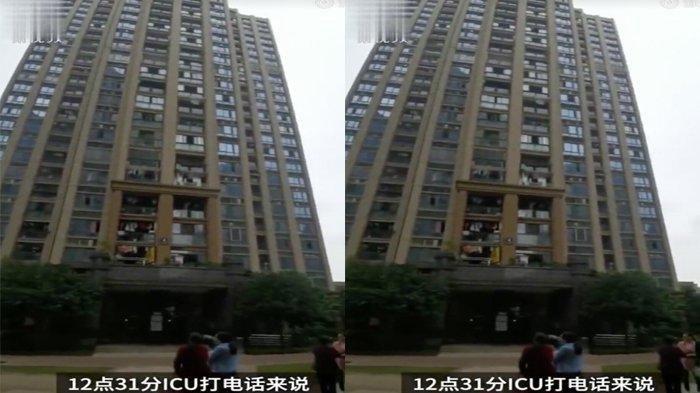 Penampakan gedung apartemen kasus ayah melempar dua anaknya karena ingin menikah