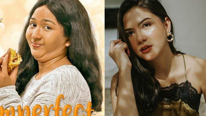 Berat Badan Jessica Milla Naik 10 Kg demi Film Imperfect, Bentuk Tubuhnya Bikin Pangling