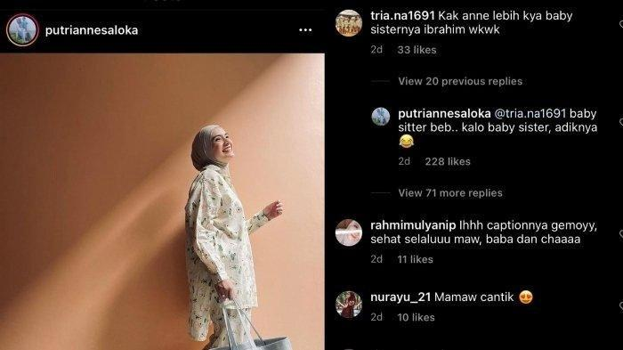 Penampilan Putri Anne di Instagram diejek mirip baby sitter