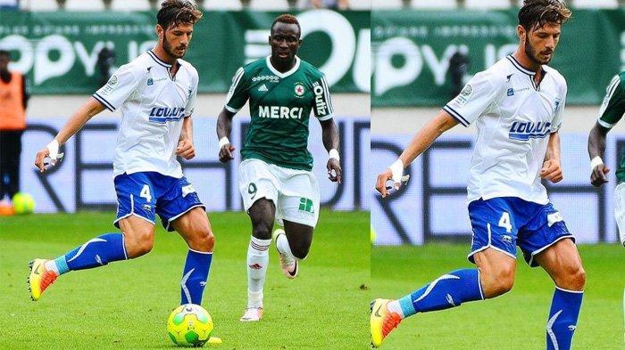 Penampilan Stephane Sparagna di lapangan hijau calon pemain asing Arema FC