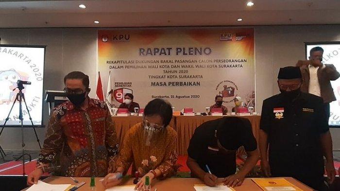 Pasangan Bagyo Wahyono-FX Suparjo (Bajo) Bakal Jadi Penantang Gibran-Teguh di Pilwali Solo 2020