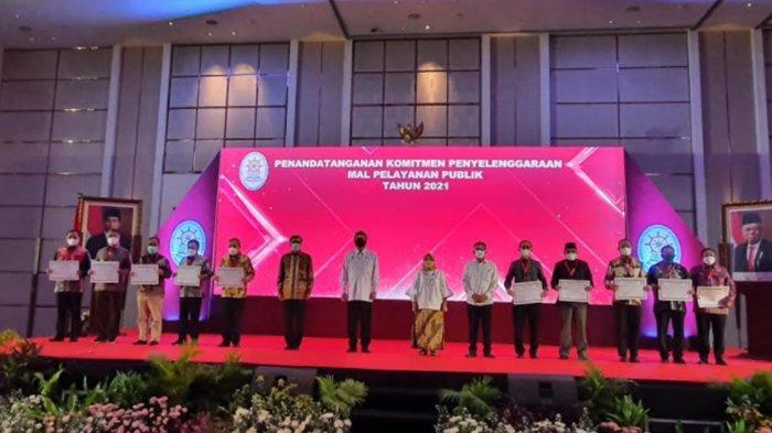 Sutiaji Tandatangani Komitmen Pembangunan Mal Pelayanan Publik (MPP) di Kota Malang