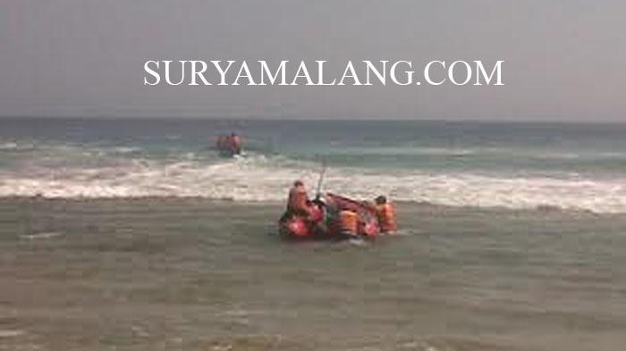 Ini Kendala Pencarian Korban Terseret Ombak Pantai Bajulmati Malang