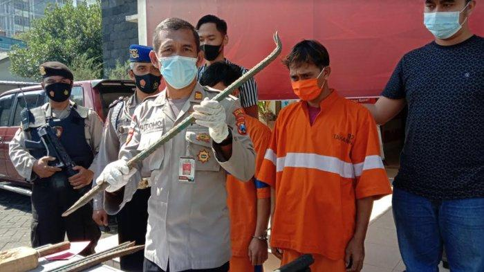 Pencuri Kabel PT Telkom Ditangkap Polsek Lowokwaru Malang