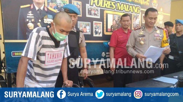 Pencuri Motor di Delapan Lokasi Dilumpuhkan Resmob Polres Malang