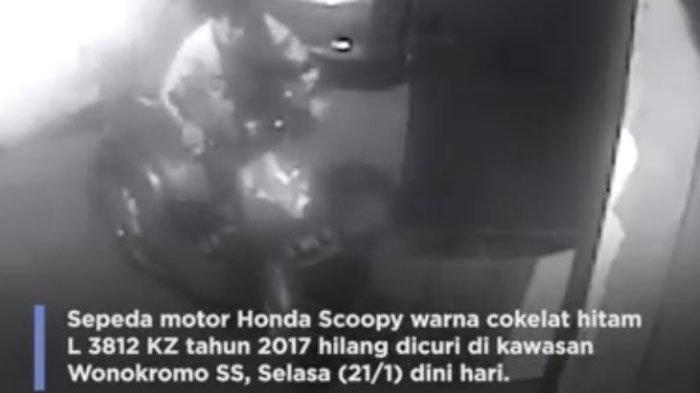 Kepergok Mencuri Motor di Surabaya, Maling Asal Pasuruan Ini Malah Lempar Bondet ke Arah Polisi
