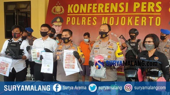 2 Pelaku Pencurian Modus Pecah Kaca Mobil Nasabah Bank Mandiri Ditembak, Gasak 259 Juta di Mojokerto