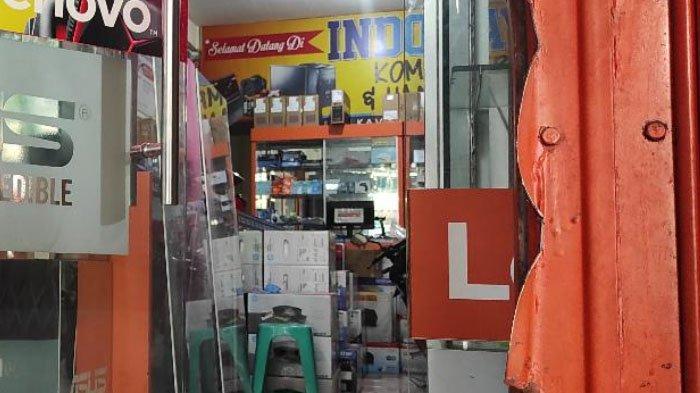 Pembobol Toko Komputer di Kota Blitar Diduga Jaringan Pelaku Pencurian Konter HP di Srengat