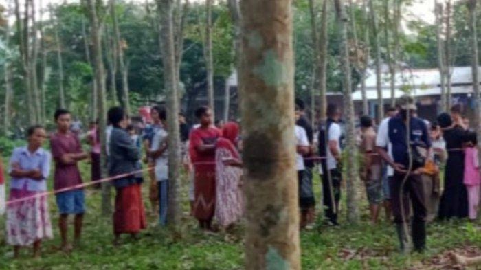 Pria 55 Tahun Tewas di Dekat Perkebunan Karet Jember, Ada Minyak Wangi di Sekitar Mayat
