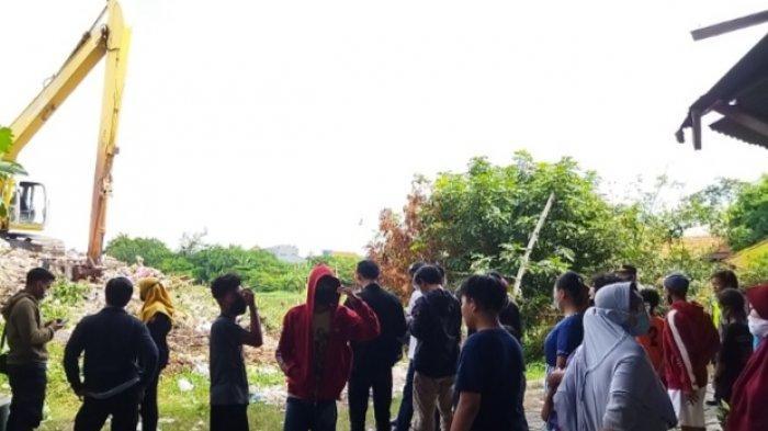 Geger Penemuan Mayat di Tumpukan Sampah di Bawah Jembatan Jalan Karah, Surabaya