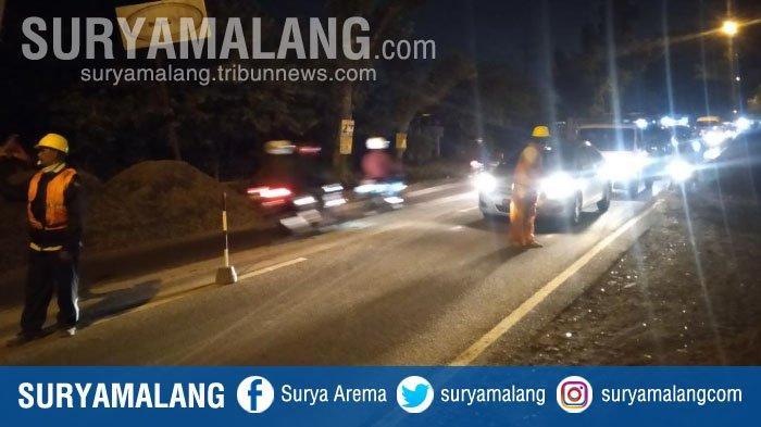 Ada Perbaikan di Jalur Pakisaji-Kepanjen, Ini Jalan Alternatif Agar Tak Terjebak Kemacetan di Malang