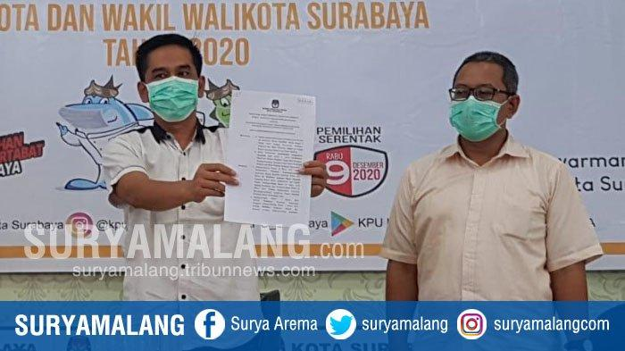 KPU Tetapkan Eri Cahyadi-Armuji dan Machfud Arifin-Mujiaman Penuhi Syarat Ikut Pilwali Surabaya