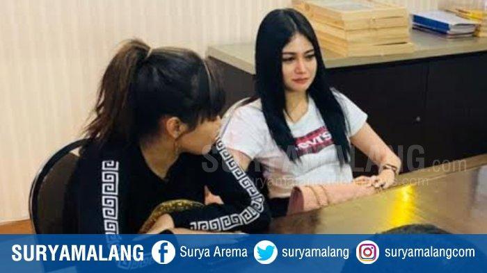 Pengakuan 2 Wanita Cantik Pemeran Video Viral Aksi Mandi di Atas Motor di Mojokerto, Minta Maaf