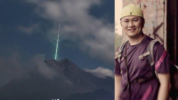 Pengakuan Fotografer Foto Meteor di Gunung Merapi, Dipotret Sehari Setelah Gerhana Bulan Total
