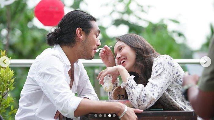 Potret Yasmin Napper dan Giorgino Abraham Saat Syuting Love Story The Series